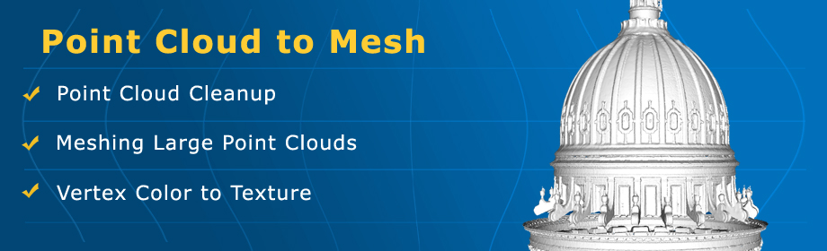VRMesh - Point Cloud and Mesh Processing Software